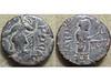 Kanishka I (Baltimore Bob) Tags: ancient coin money bronze copper kushan kushans kushana kanishka nana nanaia