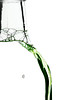 In a Bottle (hdtharp35) Tags: macromonday insideabottle 100mm macro canont2i green highkey whitebackground kitchen bubbles soap
