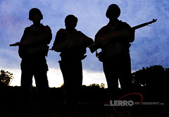 D-Day Conneaut Reenactment (Lerro Photography) Tags: worldwarii wwii reenactment ddayconneaut ohio dday reenactor vintage uniforms silhouette