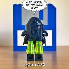 #LEGO_Galaxy_Patrol #LEGO #3½ #Floppy #Disk #FloppyDisk #Diskette #FloppySiskDrive #FDD #MOC #LEGOmoc (@OscarWRG) Tags: legogalaxypatrol lego 3 floppy disk floppydisk diskette floppysiskdrive fdd moc legomoc