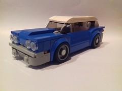 American classic car (Be-C Custom Brick) Tags: lego moc speed champion american muscle car bec custom brick voiture
