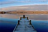 Frosty morning (Nige H (Thanks for 12m views)) Tags: nature landscape frost frosty jetty lake canon reflection mountains windermere lakewindermere lakedistrict england cumbria uk dawn sunrise morning sky cloud countryside lakedistrictnationalpark