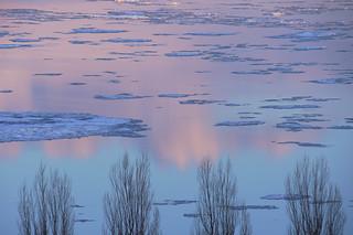 L'hiver au crépuscule