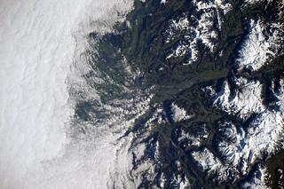 Snowy Europe