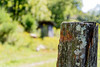 Farm fence post (JOgdenC) Tags: farm hayes