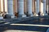 Diverse vedute [Explore n°84 - 15 gennaio 2018] (encantadissima) Tags: roma lazio sanpietro colonnato bernini luci ombre people streetphotography sanpietrini