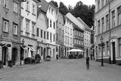 Walking Ljubljana (virtualwayfarer) Tags: ljubljana slovenia si slovenian europe city streetphotography streetphotos sonyalpha a7rii historiccity historic architecture urban travel travelphotography feelslovenia