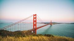 All Her Style and Beauty (Thomas Hawk) Tags: 75thbirthdaygoldengatebridge america batteryspencer california goldengatebridge marin marinheadlands sanfrancisco usa unitedstates unitedstatesofamerica bridge millvalley us fav10 fav25 fav50 fav100