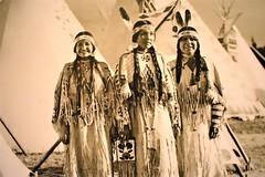 Yakama women (thomasgorman1) Tags: indian native american southwest women feathers western nikon history museum photo vintage photograph nm
