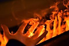 No pain no gain (BMADHudson) Tags: fire hand smoke orange burn