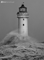 CO1A6382 (chris fearnehough) Tags: lighthouse storm stormchaser wirral newbrighton perchrock waves