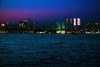 Dusk (Melissa Maples) Tags: istanbul turkey türkiye asia 土耳其 nikon d3300 ニコン 尼康 nikkor afs 18200mm f3556g 18200mmf3556g vr üsküdar evening dusk boğaz sea bosphorus water buildings skyline lights night dark blue strait