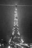 Eiffel Tour at night in the rain BW (Just Wow 600K+ views! christopherwrightphotography) Tags: paris tower eiffel tour structure canon eos 70d 18135 is usm true2bw