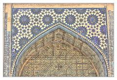 Samarqand UZ - Registan Ulugbek-Madrasa 09 (Daniel Mennerich) Tags: silk road uzbekistan registan samarqand history architecture hdr