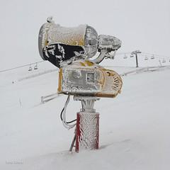 Cañón de nieve (Luisa Colado) Tags: valgrande pajares asturias nieve hielo snow ice