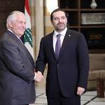 Secretary Tillerson Meets With Lebanese Prime Minister Saad Al Hariri thumbnail