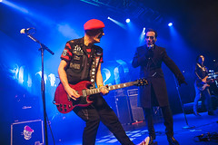 The Damned @ O2 Academy 6 (preynolds) Tags: gig concert livemusic dof canon5dmarkii mark2 raw tamron2470mm frontman singer singing stage stagelights guitar guitarist birmingham punk rock alternative music musician counteractmagazine noflash