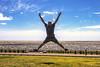 Vacaciones alla voy... (Wal Wsg) Tags: vacacionesallavoy 7dwf 7dwffreetheme phwalwsg argentina argentinabsas buenosaires caba capitalfederal ciudadautonoma ciudaddebuenosaires parquedelamemoria dia day salto jump saltando jumping