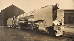 South African Railways - SAR Class 15F 4-8-2 steam locomotive Nr. 2971 (Beyer Peacock Locomotive Works, Manchester-Gorton 7087 / 1944) (HISTORICAL RAILWAY IMAGES) Tags: steam locomotive sar southafrican railways bp beyerpeacock manchester gorton 482 15f