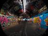 The Vault @ Leake St. (Davos Pessos) Tags: holidayphotography randomshots streetphotography streetart graffiti graffitiartist graffitiart london londoneye opteka hs50exr fisheye outdoors inthecity