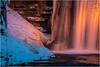 Waterfall . Geislede . (:: Blende 22 ::) Tags: germany german thuringia thüringen eichsfeld eic obereichsfeld kurpark garden gardens park abends abend evening licht schatten lightshadow light color farben farbig kunst art artful kunstvoll skulpturenweg canoneos5dmarkiv ef70200mmf4lisusm