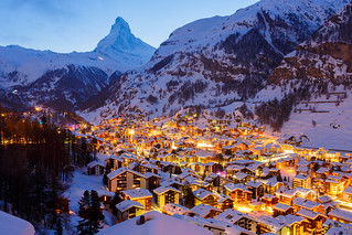 Zermatt by night