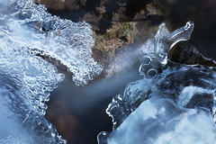 Ice Flow (Kevin.Grace) Tags: dolomites dolomiti italy ice winter flow river