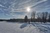 Terre-des-Jeunes, 10 janvier 2018 (guysamsonphoto) Tags: guysamson sonyalpha7rmkiii zeiss1635f4 hdr victo victoriaville snow winter hiver rivière river rivièreduquébec rivièrenicolet clouds nuages aurorahdrpro2018