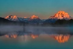 Grand Teton National Park (shishirmishra1) Tags: mountains water grandteton reflection outdoor clouds travel blue sunrise fantastic nature fantasti