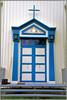door of a church.......... (atsjebosma) Tags: ddd donderdagdeurendag blue door tdd atsjebosma straumnes lofoten norway 2017