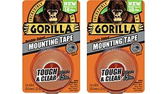 "Gorilla 6065001-2 Double-Sided Tough and Clear Mounting Tape (2 Pack), 1"" x 60"", Clear - DiZiWoods Store (diziwoods) Tags: clear diziwoods doublesided gorilla mounting pack store tape tough"