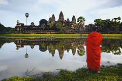 Angkor Wat, Siem Reap Cambodia (Patrick Foto ;)) Tags: ancient angkor archeology architecture asia asian beauty buddha buddhism buddhist building cambodia complex copyspace culture dawn famous heritage hindu hinduism history khmer lake landmark monk monks monument old people reap reflection religion religious ruin siem sky stone sun sunrise sunset temple thom tomb tourism tourist travel unesco wat water world krongsiemreap siemreapprovince kh