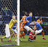 Portsmouth_Shrewsbury_BZ788 (Barry Zee) Tags: portsmouthvshrewsburytown 2712018 skybet leagueone football sport soccer po48ra hampshire england sex pitch pushing goalmouth hugging armtwisting frattonpark