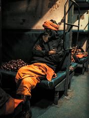 From Varanasi To Calcutta (Julien Cha.) Tags: streetphotography sadhu india varanasi calcutta kolkata orange streetphoto