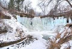 Minnehaha Falls (Fab05) Tags: minneapolis minnesota waterfall frozen winter cold minnehahafalls minnehahacreek midwest
