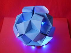 Okeanos Kusudama (ISO_rigami) Tags: modular origami 3d a4 kusudama okeanos eckhardhennig sid sidx