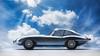 Shining (t.schwarze) Tags: jaguar etype cabriolet convertible british car voiture blau silber blue silver shining glossy scheinend glänzend modellauto diecastmodel modelcar composite