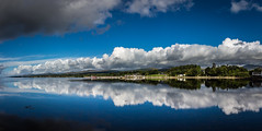 Kenmare (Ireland) Panorama (Fred Veenkamp) Tags: reflection panorama pano eire ireland kenmare ierland