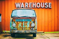 Warehouse (Thomas Hawk) Tags: alabama america birmingham usa unitedstates unitedstatesofamerica volkswagen volkswagenbus warehouse fav10 fav25 fav50 fav100