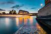 Sunet In Paris (Matthieu Plante) Tags: paris france europe seine river canon 6d long exposure notredame cathedral cathédrale