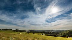 Vulkaneifel (c.collardjacques) Tags: eifel landschaft natur gras feld bume sonne sommer himmel wolken weite hgel berge vulkaneifel aussicht ruhe wandern germany