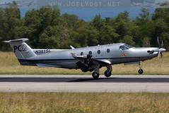 N381SL (Joel@BSL) Tags: pilatus pc12 basel artbasel euroairport bsl