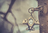 MAYDAY MAYDAY... RESCUED BY CLASP... MM (Ayeshadows) Tags: macromonday key chain clasp mayday fighterplan minimalism holding metallic