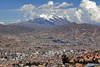 La Paz (Joost10000) Tags: town city view skyline mountain altiplano andes sky clouds lapaz la paz bolivia southamerica south america mountains altitude canon canon5d eos