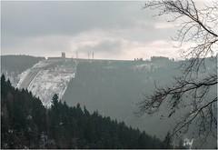 Winter? (linke64) Tags: pumpspeicherwerk hohenwarte landschaft natur thüringen deutschland wolken winter himmel berge bäume wald dunst baum energie germany