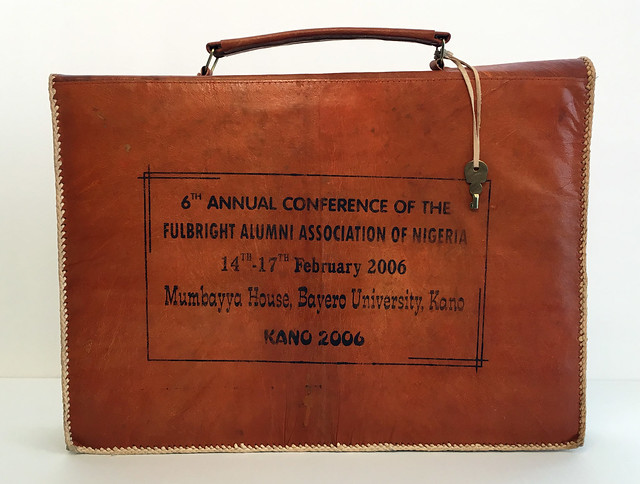Fulbright Briefcase (back)