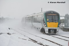 22059 passes Portlaoise, 1/3/18 (hurricanemk1c) Tags: railways railway train trains irish rail irishrail iarnród éireann iarnródéireann portlaoise 2018 22000 rotem icr rok 3pce 22059 0855limerickheuston