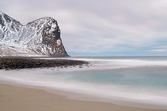 unstad beach (Sandra Bartocha) Tags: lofoten norway lys northernnorway winter beach seascape sandrabartocha unstad
