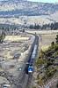 Amtrak 5 (caltrain927) Tags: union pacific railroad amtrak california zephyr passenger train ge p42dc nevada verdi nv