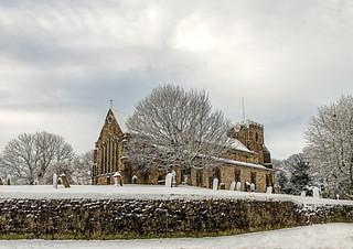 Winter in the village 18-1-2018